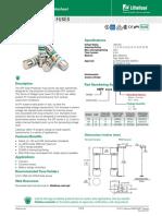Littelfuse - Cátalogo de Fusibles Instalaciones Fotovoltaicas