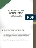 Sistemas de beneficios sociales