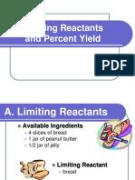 Limiting Reactants & %Yield