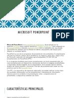 Presentación de Microsoft PowerPoint