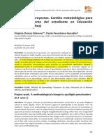 ProyectosCambioMetodológico
