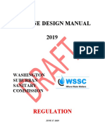 WSSC 2019 Pipeline Design Manual