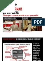 Innovar y Transformar La Empresa Luis Huete y Alvaro González-Alorda
