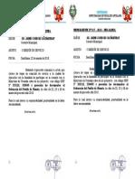 MEMORANDON°017 COMOSION DE SERVICIO GERENTE--