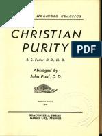 Christian Purity.abridged R.S.[001]