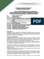 ESPECIFICACIONES TÉCNICAS ESTUCTURAS
