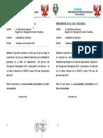MEMORANDON°016 COMISION DE SERVICIO PRESUPUESTO RAUL