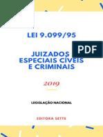 Resumo Lei Juizados Especiais Civeis Criminais Lei 9 099 95 Atualizada 2019 6ec4