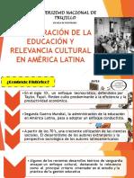 Administración de La Educación y Relevancia Cultural en America l