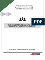 DOSSIER PARA DOCENTES DE PRIMARIA CURRÍCULO 2019