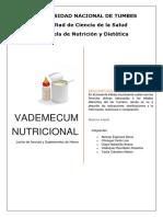 Vademecum Nutricional 4ª Ciclo