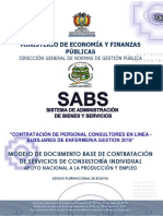 Sicoes Ivirgazama Aux Enfermeria 2019