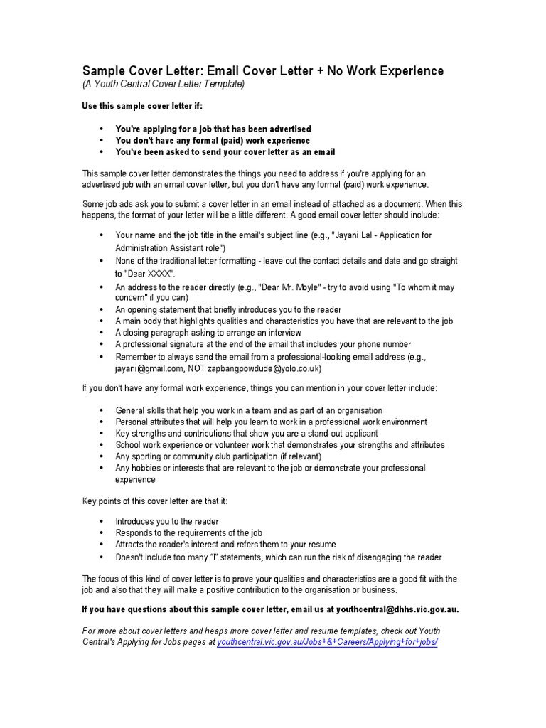 Email Cover Letter Example from imgv2-2-f.scribdassets.com