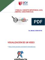 el proceso  de vizualizacion