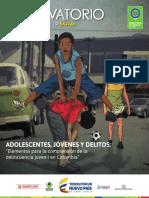 Boletin delincuencia Juvenil ICBF