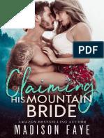 Claiming His Mountain Bride (Blackthorn Mountain Men 1) - Madison Faye
