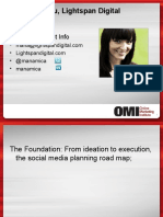 Social Media Marketing Planning and Measurement, The Key Ingredients - SES Chicago 2010