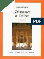 eBook Driss Chraibi - Naissance a LAube