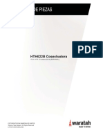 Manual tecnico waratah 622b cabezal cosechador