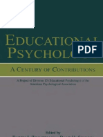 Educational Psychology a Century of Contributions