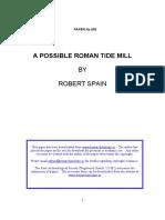 A POSSIBLE ROMAN TIDE-MILL
