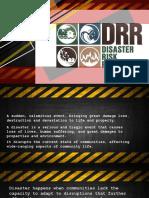 Basic Concept of DRRR