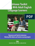 Working With Adults English Language Learners