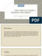 Origen Del Psicoanálisis a Modelo Dinámico