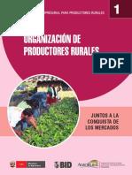 Organizacion de Productores Rurales Manual de Gestion Empresarial
