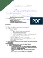 Manual de Actualización Para Switches HPE en IRF