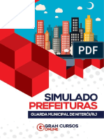 Simulado - Guarda Municipal Niterói - Com Gabarito