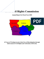 Annual Report Civil Rights Commission