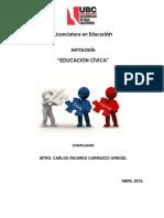 Antología Educ. Cívica