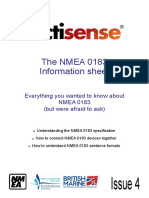 NMEA 0183 Information Sheet Issue 4 1 1
