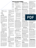 Organizacion y Estructura Del Estado Colombiano