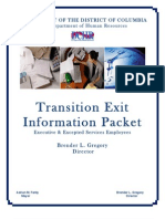 FINAL Transition Exit Information Packet