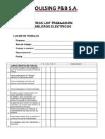 Check List Tableros Electricos (Recuperado Automáticamente)