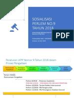 PerlemLKPP No 9 Tahun 2018 Untuk PPK 16.07.2019
