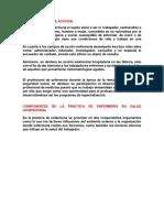 SUJETO - CAMPO DE ACCCION y COMPONENTES DE LA PRACTICA DE ENFERMERIA.docx