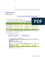 sample reports for office