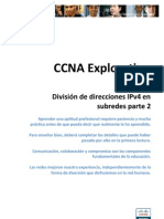 Division de Direcciones IPv4 en Subredes Parte2