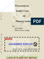 Kepler s Laws of Planetary 1