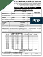 UAP Amnesty Form