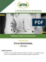 Modulo VI Etica Profesional