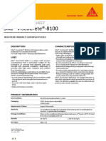 PDS Sika ViscoCrete-8100 En