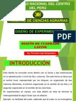 7. Diseño de Cuadrado Latino