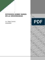 Estudios Sobre Danza en La Universidad