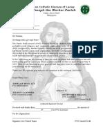 St joseph the worker parish letter.docx