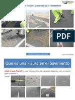 Procedimiento de Sello de Fisuras en Pavimentos Asfálticos Flexibles-www.seicansac.com