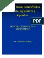 Estructura y Modelo de Eia